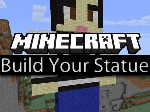 Minecraft Tutorial: How To Build Your Own Skin Statue