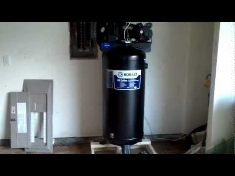 How to set up the Air Compressor Part 1 Quick and Easy!!