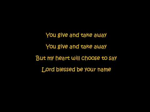 Rebecca St James - Blessed Be Your Name