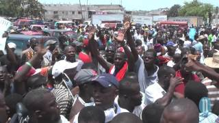 VIDEO: Haiti Manifestation 10 Juin 2014, Arnel Belizaire Zam nan men, Jan-l pase l pase