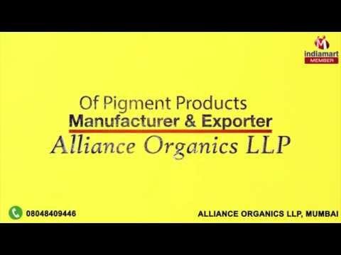 Pigment Products by Alliance Organics LLP, Mumbai