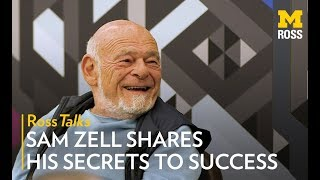 Sam Zell Shares The Secrets To His Success