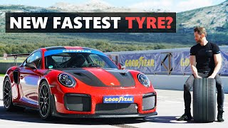 Can just tyres make the Porsche 911 GT2 RS even faster? The Goodyear Eagle F1 SuperSport R & RS