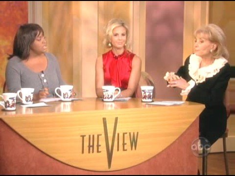 The View  Hasselbeck Fights for Palin