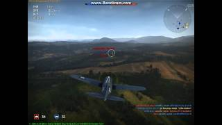 WAR THUNDER (F2A-3 Buffalo) Gameplay