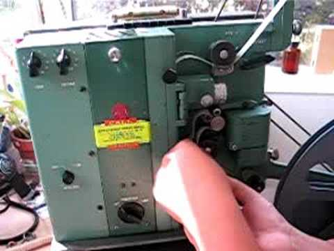 16mm Projector, RCA model 415 Part one