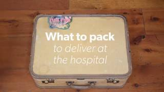 Packing a Hospital Bag