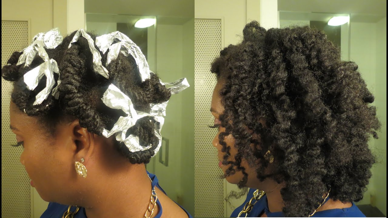 How To Achieve A Curly Set W No Heat Rollers Or Rods