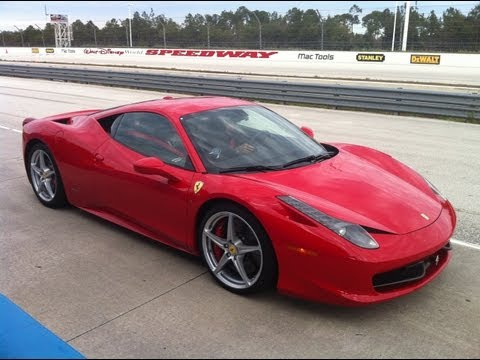 Exotic Driving Experience Thrill Ride with Christian Fittipaldi in a Ferrari 458 Italia