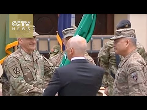 US-NATO forces change command in Afghanistan