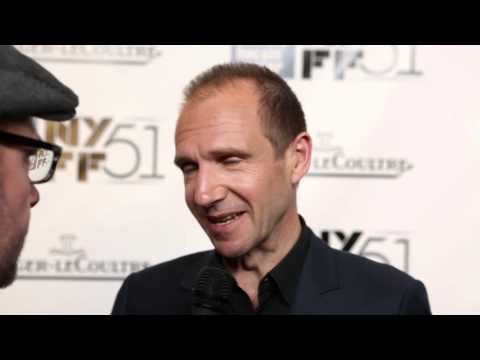 NYFF51: Ralph Fiennes | Ralph Fiennes Gala Tribute Red Carpet