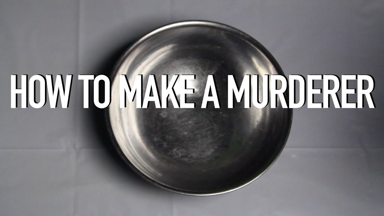 [How To Make A Murderer Recipe] Video