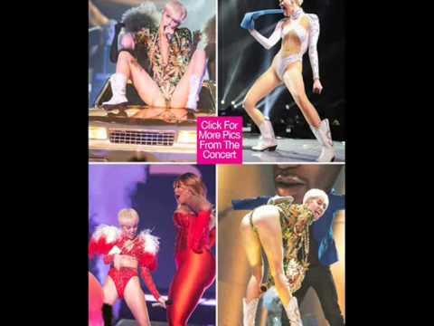 Nick Jonas Miley Cyrus 2014