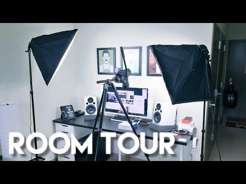 Dorm Room Tour: Tech (Desk) Setup 2015!