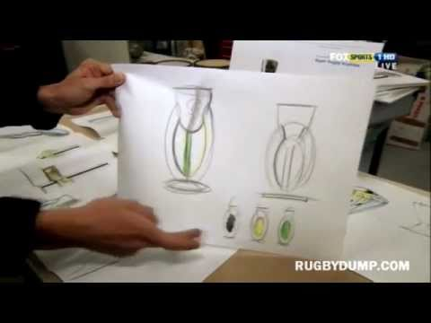 The Super Rugby trophy and how it was made