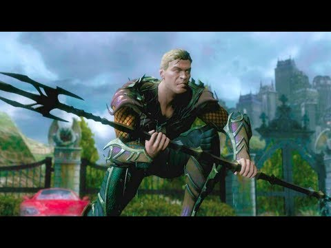 Injustice: Gods Among Us - Aquaman vs Cyborg