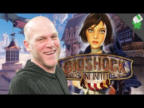 BioShock Infinite SPOILED GAMES! Adam Sessler with Jeff Gerstmann and Kevin VanOrd