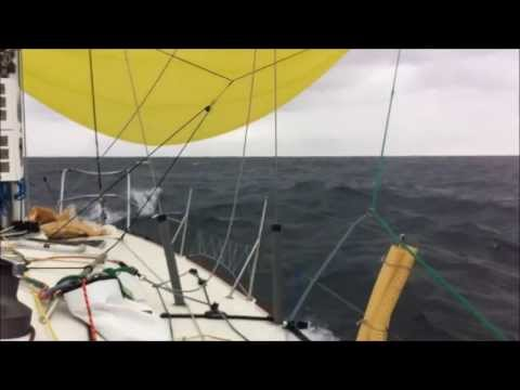Figaro #45 'FULL IRISH' - Pre-race delivery - Solitaire du Figaro 2013