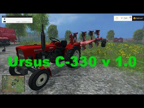 Farming simulator 2015 Ursus C-330 v 1.0 Mod