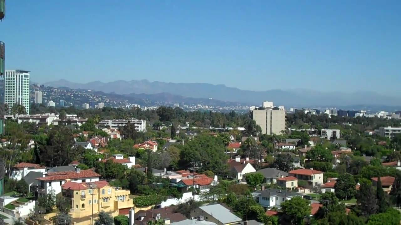 View of beverly hills hollywood hills century city west - Hollywood hills tv show ...