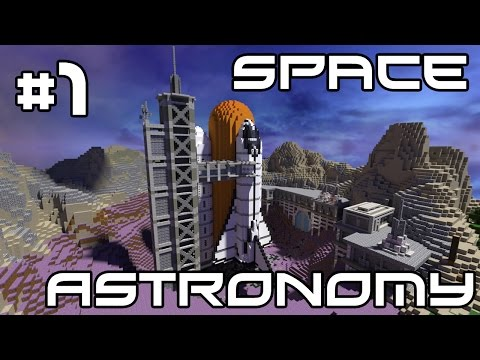 Minecraft Space Astronomy - I'm Back! #1