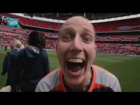 Arsenal Ladies Women's FA Cup mini-movie