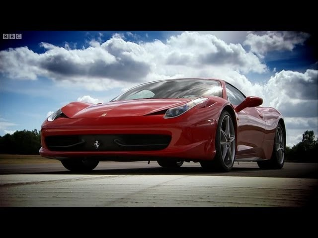Ferrari 458 vs Ferrari 430 - Top Gear - BBC - YouTube