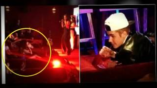 Selena Gomez  & Justin Bieber were seen together at the concert of Young soho  LA!