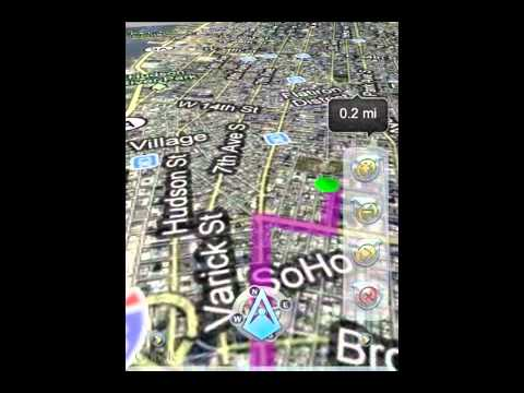 iWay GPS Navigation for iOS - Global, Low-Cost, Turn-By-Turn