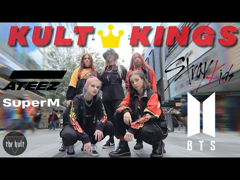 [KPOP IN PUBLIC] KPOP MASHUP - ATEEZ, BTS, SUPER-M, STRAY KIDS | THE KULT | AUSTRALIA