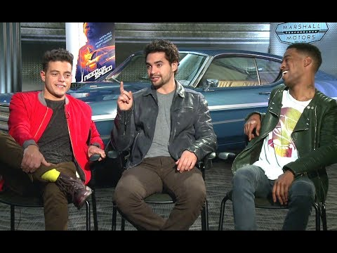 Scott Mescudi, Ramon Rodriguez & Rami Malek Interview - Need For Speed (2014) JoBlo.com HD