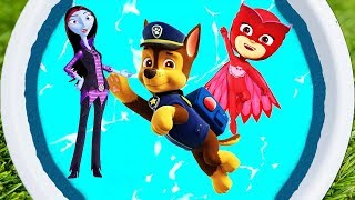 Learn Colors and Characters For Kids Vampirina, Paw Patrol, Avengers, Buzz Lightyear