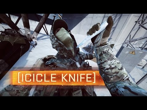 ► Icicle Knife + Mini Walker! | Battlefield 4: Final Stand Easter Eggs video