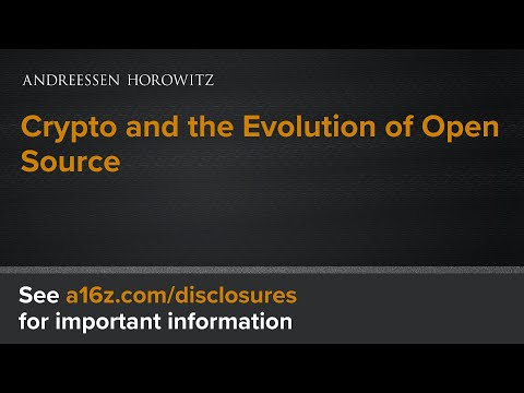 Crypto and the Evolution of Open Source