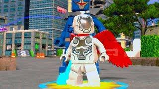 LEGO Marvel Super Heroes 2 Super Adaptoid Boss Battle Unlock Location + Free Roam Gameplay