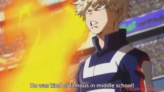Bakugo vs.Uraraka - Boku no Hero Academia Season 2 Episode 9