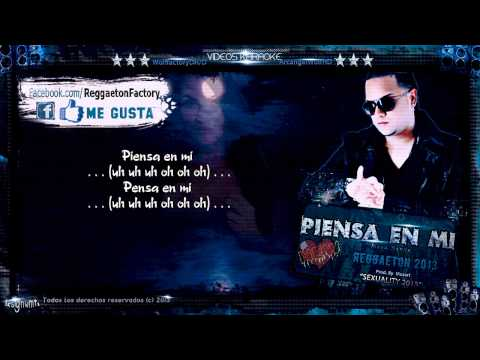 Mega Sexxx - piensa En Mi Con Letra new Romantic Reggaeton 2013 video