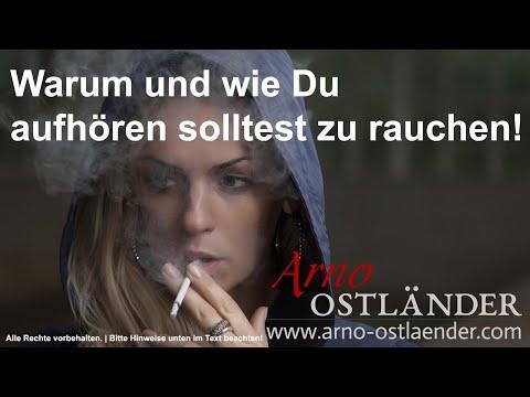 Warum und wie Du aufhören solltest zu rauchen!