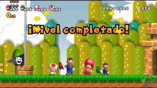 New Super Mario All Stars HD: Super Mario Bros Lost Levels REMAKE CO-OP 4 Players