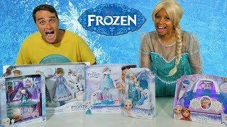 Frozen Toy Challenge with Queen Elsa !    Toy Review    Konas2002