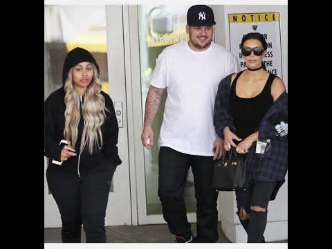 Kim Kardashian takes Rob and Blac Chyna to their first OBGYN appointment
