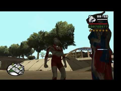 Gta Sa Ultraman Mod Released! Must See!!!! *ultraman Belial Added To The Description* video