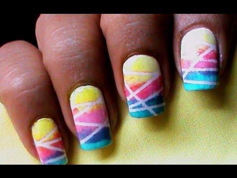 Easy Nail Polish Designs For Short Nails