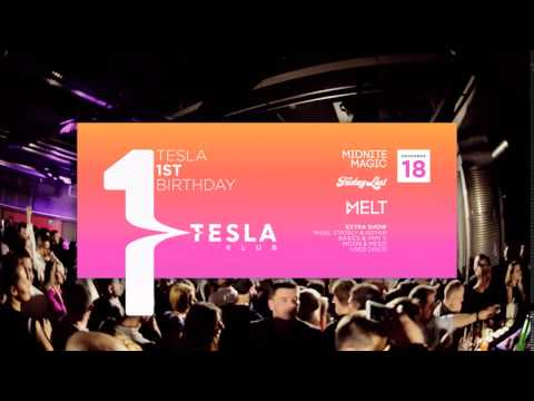 tesla budapest 1st birthday // az igazi klub youtube