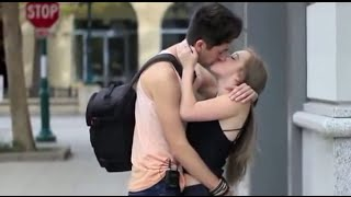 Kissing Prank - Trick Question Kising Prank PrankInvasion