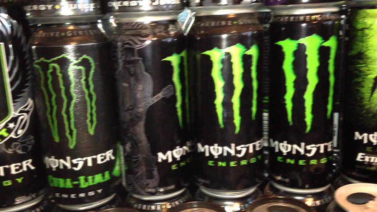 Monster Energy Drink Flavors Green