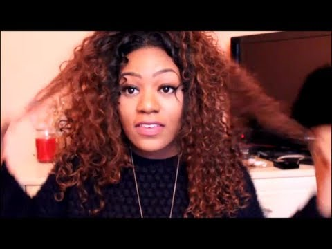How I Revive Dry Curly Hair! Hair Tutorial   Miss Nicki x