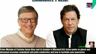 #Imrankhan #BillGates  PM Pakistan Imran Khan and Bill Gates spoke on phone/Economy/Investment