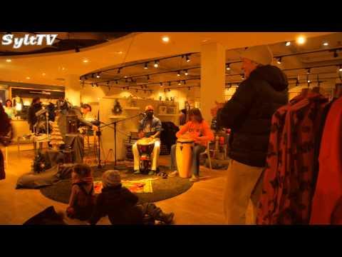 Shoppen bei Kerzenlicht in Westerland