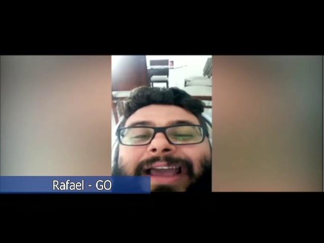 Rafael, de Goiânia, tem aprendido o caráter de Deus.